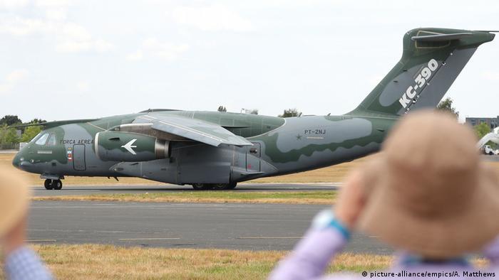 Farnborough International Airshow (picture-alliance/empics/A. Matthews)