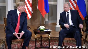 Minicumbre entre Trump y Rusia