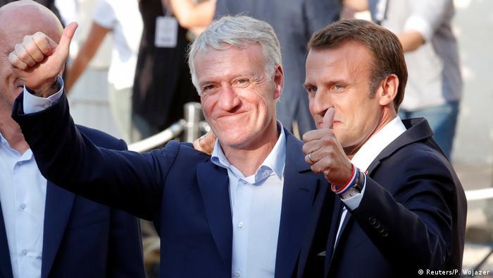 Frankreich empfängt seine Weltmeister | (Reuters/P. Wojazer)