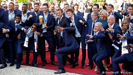 Frankreich empfängt seine Weltmeister |