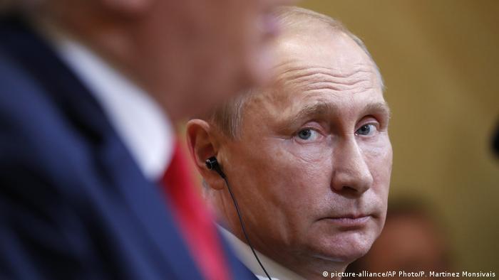 Finnland Helsinki PK Treffen Trump Putin (picture-alliance/AP Photo/P. Martinez Monsivais)