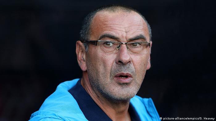 Maurizio Sarri Fußballtrainer (picture-alliance/empics/S. Heavey)