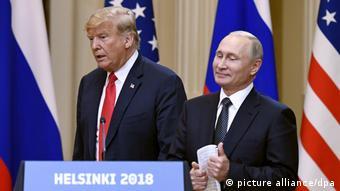 Helsinki Trump Putin (picture alliance/dpa)