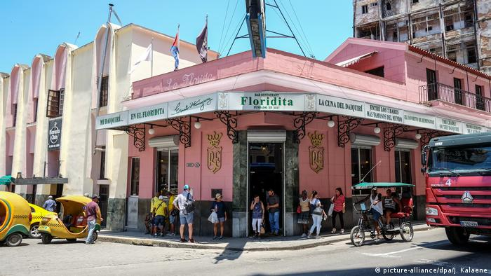 Kuba - Bar El Floridita (picture-alliance/dpa/J. Kalaene)