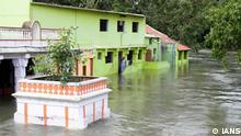 Starker Regen in Indien (IANS)