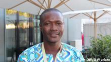 Lehrerporträt Necssima aus Benin