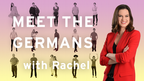 Banner: Meet the Germans with Rachel (Copyright: DW)