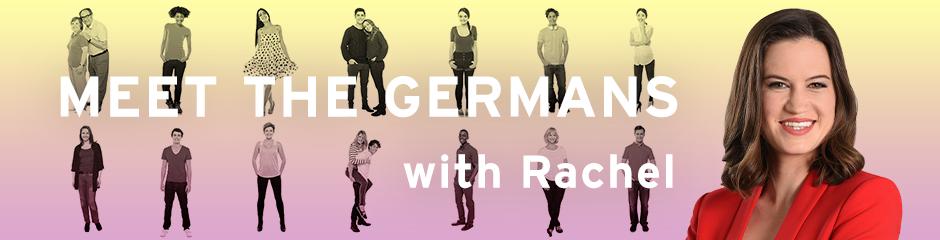 Banner: Meet the Germans with Rachel (Copyright: DW)