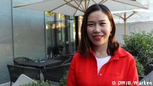 Die Deutschlehrerin Xiuxiu aus China im Porträt