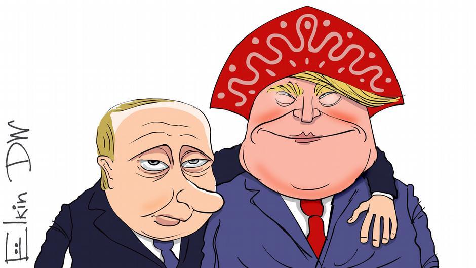 Ergebnisse des Treffen zwischen Putin und Trump