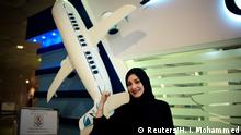 Saudi Arabien - Dalia Yashar zur Berufspilotin angemeldet