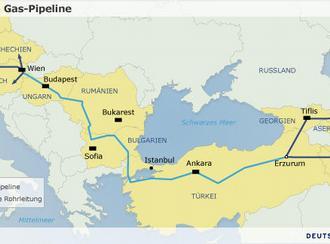 Карта Nabucco