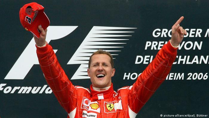 Formel-1-Pilot Michael Schumacher (picture-alliance/dpa/J. Büttner)