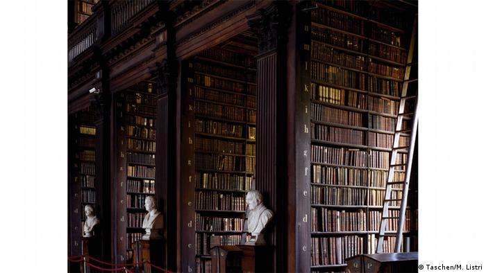 Библитека Тринити-колледжа в Дублине
