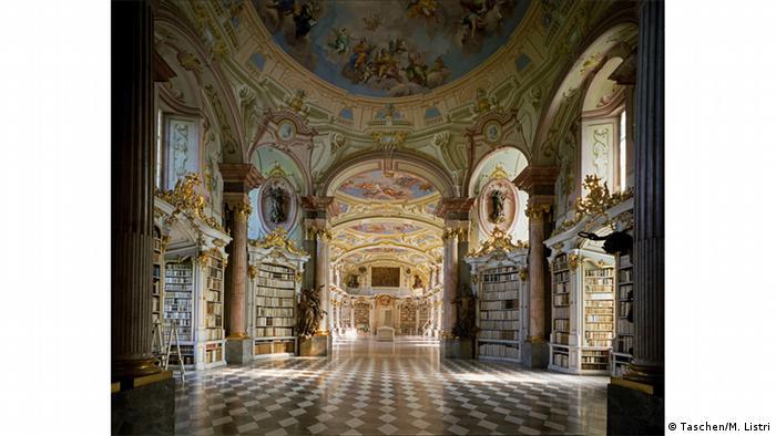 Библиотека в австрийском Адмонте