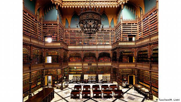 Королевская португальская библиотека в Рио-де-Жанейро