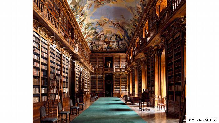 Библиотека в Страговском монастыре в Праге
