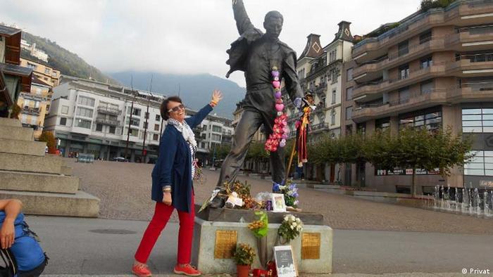 Jutta Zacher w Montreux: Jako au pair mogłam zwiedzić Szwajcarię