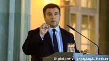 Außenminister der Ukraine Pavlo Klimkin