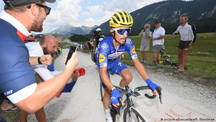 Tour de France 2018 | Julian Alaphilippe (picture-alliance/dpa/D. Stockman)
