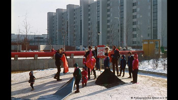 Детская площадка в Мюнхене, 1972 год