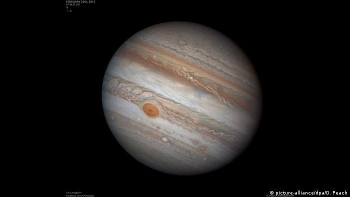 USA: Forscher der Carnegie Institution for Science entdecken 12 Jupiter-Monde