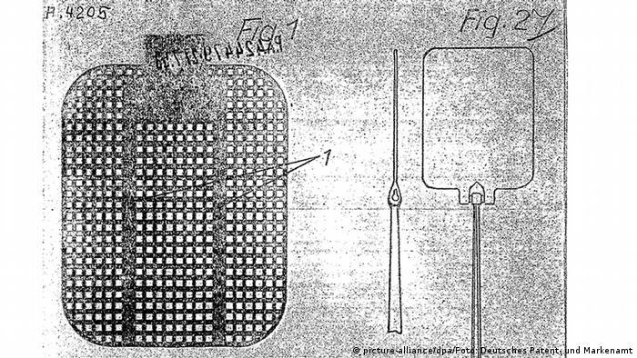 Рисунок к патенту 1953 года