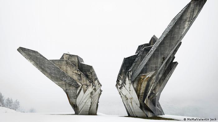 Miodrag Zivkovic's monument to the Battle of the Sutjeska (MoMa/Valentin Jeck)