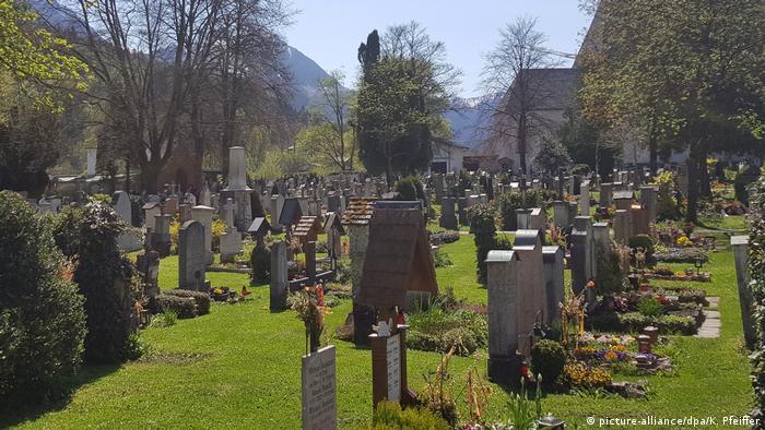 Кладбище в Берхтесгадене