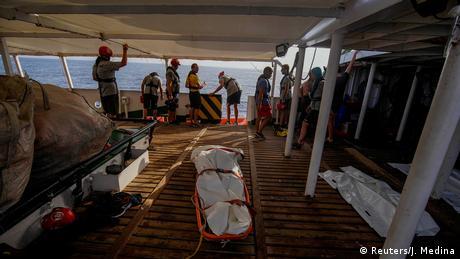 Rescate marítimo de refugiados en el Mediterráneo