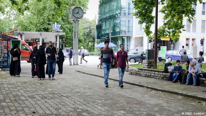 Bosnien und Herzegowina - Flüchtlinge (DW/A. Kamber)