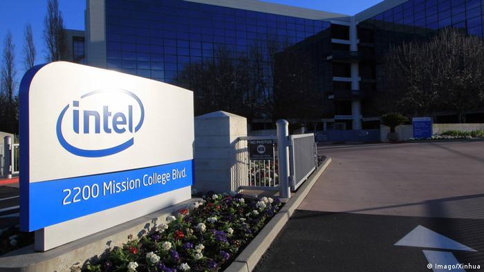 Intel Chip - IT-Unternehmen l Strafen (Imago/Xinhua)