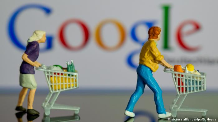 Google Online-Shopping - IT-Unternehmen l Strafen (picture alliance/dpa/S. Hoppe)