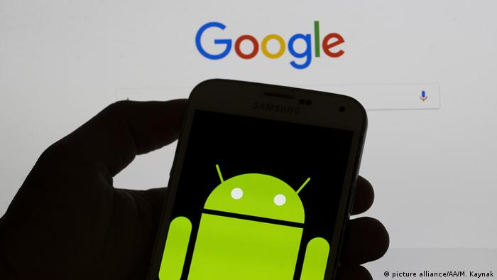 Google's Android (picture alliance/AA/M. Kaynak)