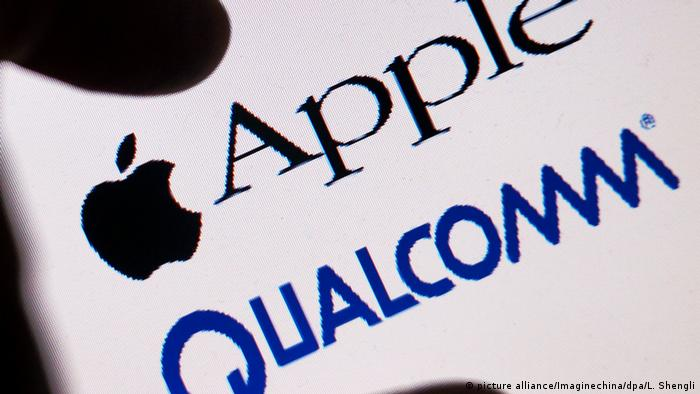 Qualcomm und Apple - IT-Unternehmen l Strafen (picture alliance/Imaginechina/dpa/L. Shengli)