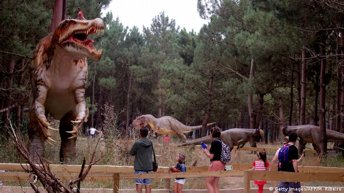 Portugal Dino Park in Lourinha (Getty Images/AFP/M. Ribeiro)