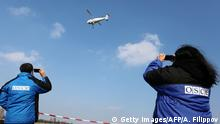 Ukraine OSZE Mitarbeiter Drohne