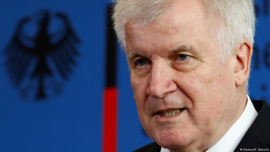 Pressekonferenz mit Horst Seehofer
