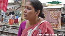 Bibha Naskar, is the President of West Bengal Domestic Workers Society