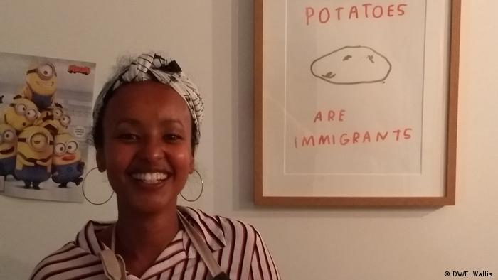 Somalische Essen Fozia Ismail (DW/E. Wallis )