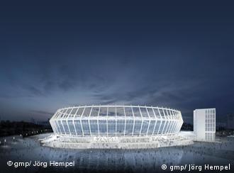 Стадіон у Києві, проект