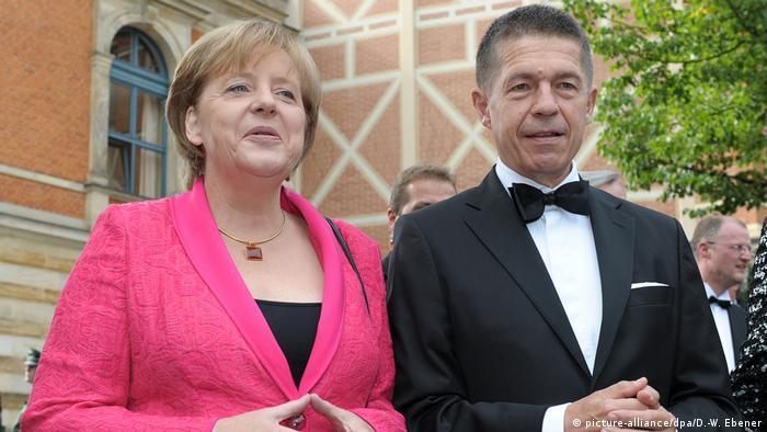 Dr. Angela Merkel ve eşi Prof. Dr. Joachim Sauer