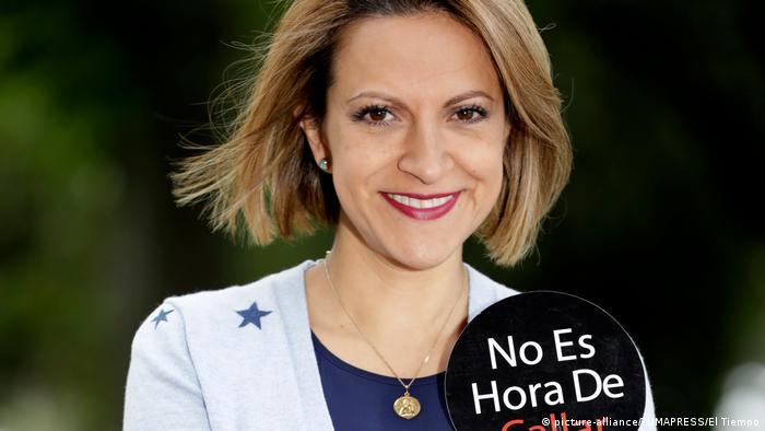 Kolumbien die Journalistin Jineth Bedoya