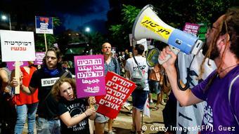 Israel Tel Aviv Protest gegen Nationalstaatsgesetz