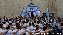 Israel Jerusalem-Tag Aktivisten Nationalisten (Getty Images/AFP/M. Kahana)