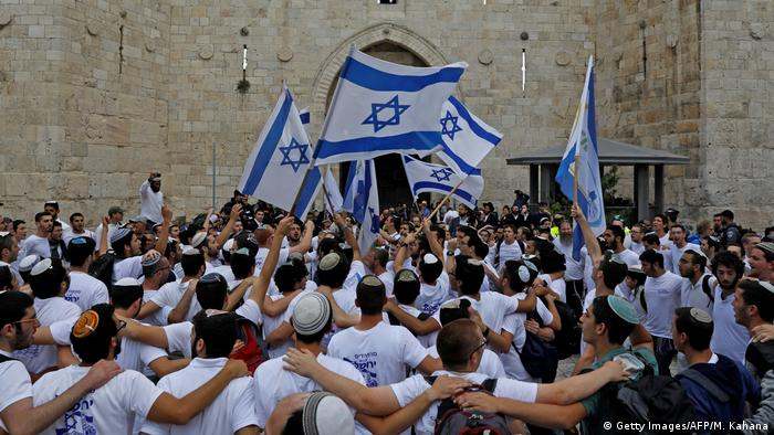 Israeli nationalist demonstrators (Getty Images/AFP/M. Kahana)