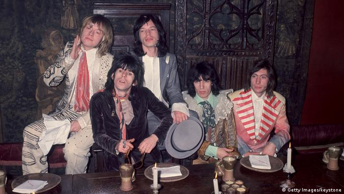 Rolling Stones 1968 (Getty Images/keystone)