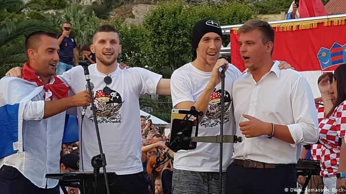 Kroatien Willkommensfeier für Ivan Perisic