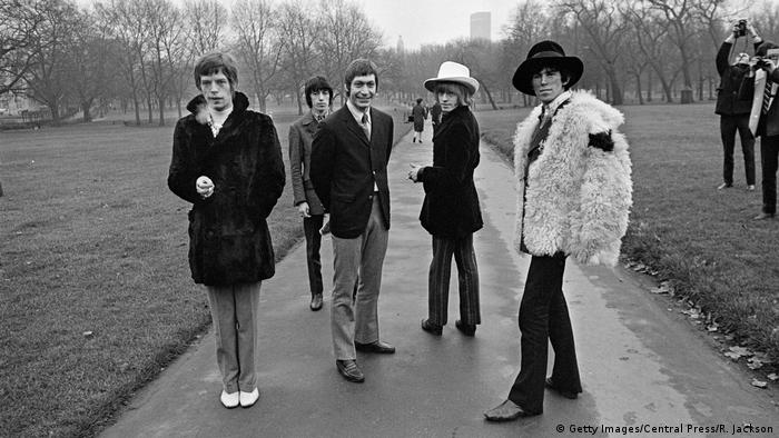 London's Green Park Rolling Stones 1967 (Getty Images/Central Press/R. Jackson)
