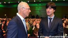 DFB Bundestag Joachim Löw und Franz Beckenbauer